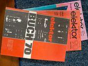 Elektor Hefte aus den 70