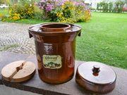 Gärtopf für Sauerkraut - Krauthobel