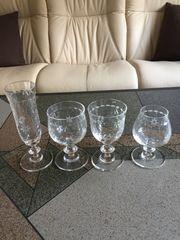 Bleikristall Gläser