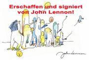 JOHN LENNON Original Foto signiert