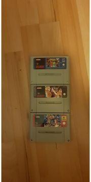 3x Nintendo SNES Spiele - Lost