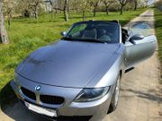 BMW Z 4 silber metallic