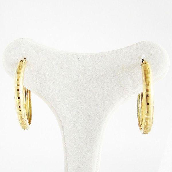 Ohrringe Gold 585er Creolen 14