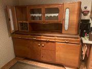 Küchenschrank aus Vollholz