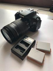 Kapputte Canon 600D Kamera und