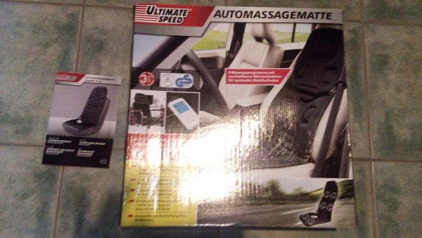 Autositz Massage Auflage Neu original