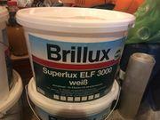 3 Stück Farbeimer Brillux Superlux