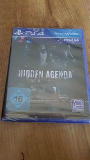 Hidden Agenda Neu für PS4
