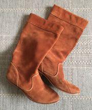 Cowboy Stiefel braun Wildleder Boots