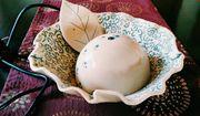 Katzenbrunnen aus Keramik