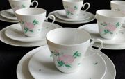 Rosenthal Kaffeeservice Romanze Rosa Rote