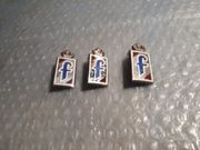 3 Alte seltene Pinefarina Embleme