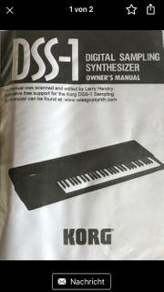 Suche Disketten für KORG DSS1