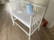 Baby Beistellbett Anstellbett Fabimax 90x55cm