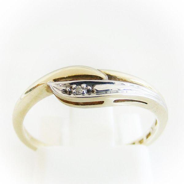 Ring Gold 333er Diamant 8