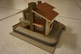 Modelleisenbahnen - Haus für Modellbahn HO 1