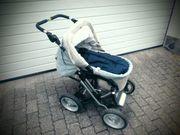 Kinderwagen mit Zubehör