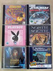 Gut erhaltene PC Spiele