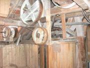 Holz Riemenscheiben und Mischmaschine aus