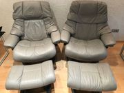 Stressless Sessel mit Hocker