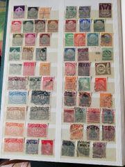 16 Seiten Briefmarken Deutsches Reich