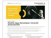 Mobile App Developer m w