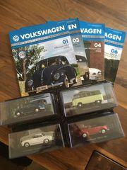 Volkswagen Offizielle Modell-Sammlung 1 43