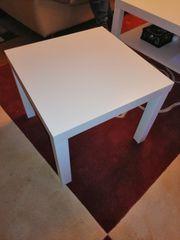 Beistelltisch weiß 55x55 cm