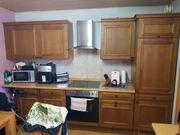 Küche Echtholzoptik 4 Meter