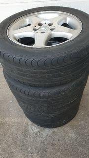 Mercedes Alu Sommerräder 215 55ZR16