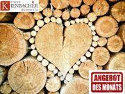 Wackersberg Umgebung trocknes Scheitholz Kaminholz