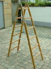 Maler Holzleiter 6 sprossig für