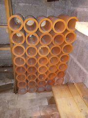 Tonröhren für Weinlagerung
