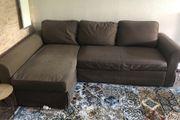 3er Sofa mit Recamiere