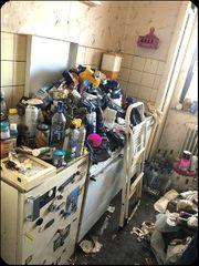 Messiwohnung peiswert entrümpeln- Wohnungsräumung