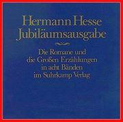 HERMANN HESSE - - Die Romane und