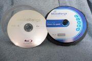 Verschiedene Marken-DVDs und BlueRays zum