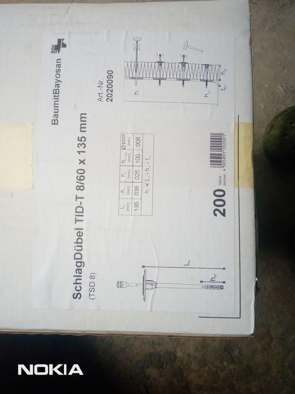 Schlagdübel TID-T 8 60 135