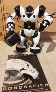 Roboter ROBOSAPIEN mit Fernbedienung