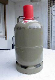 Propangasflasche grau 5kg mit Schutzkappe