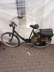 SPARTA met Saxonette Fahrrad mit