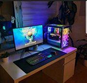 gaming rechner mit setup