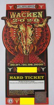 Ticket Wacken 2020