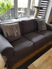 Ektorp 3er-Sofa 2 extra Bezug