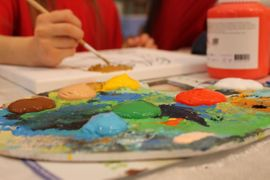 Acrylmalen - zeichnen - Atelier Gutschein