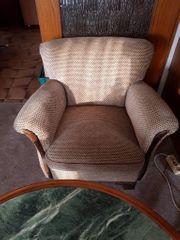 50er Jahre Sitzgarnitur 2x Sessel