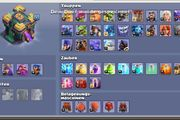 clash of Clans Account lvl208