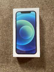 Neues iPhone 12 blau