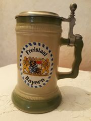 Bierseidel vom Freistaat Bayern