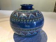 Italienische Keramikvase 19cm höch